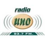 Logo da emissora Radio Uno 93.7 FM