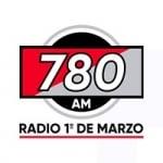Logo da emissora Radio 1º de Marzo 780 AM
