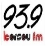 Logo da emissora Radio Korsou 93.9 FM