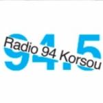 Logo da emissora Radio Korsou 94.5 FM