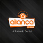 Logo da emissora Rádio Aliança 104.9 FM