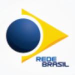 Logo da emissora Rede Brasil 105.1 FM