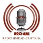 Logo da emissora Radio Unidad Cristiana 890 AM