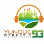 Logo da emissora Radio Yunque 93 92.9 FM