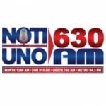 Logo da emissora Radio NotiUno 630 AM