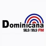 Logo da emissora Radio Dominicana 98.9 FM