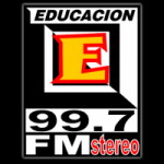 Logo da emissora Radio Educación 99.7 FM