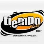 Logo da emissora Radio Tiempo 100.7 FM