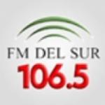 Logo da emissora Radio FM Del Sur 106.5