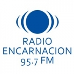 Logo da emissora Radio Encarnación 95.7 FM
