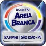 Logo da emissora Rádio FM Areia Branca 87.9 FM