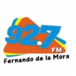 Logo da emissora Radio Fernando de La Mora 92.7 FM