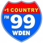 Logo da emissora Radio WDEN Country 99.1 FM