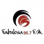 Logo da emissora Radio Fabulosa 96.7 FM