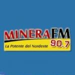 Logo da emissora Radio Minera 90.7 FM