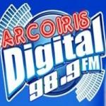 Logo da emissora Radio Arcoiris 98.9 FM