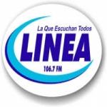 Logo da emissora Radio Linea 106.7 FM