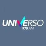 Logo da emissora Radio Universo 970 AM