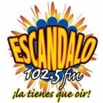 Logo da emissora Radio Escandalo 102.5 FM