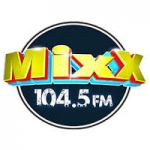 Logo da emissora Radio Mixx 104.5 FM