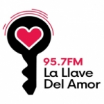 Logo da emissora Radio La Llave 95.7 FM