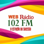 Logo da emissora Web Rádio 102 FM
