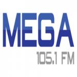 Logo da emissora Radio Mega 105.1 FM