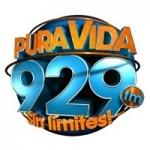 Logo da emissora Radio Pura Vida 92.9 FM