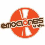 Logo da emissora Radio Emociones 97.9 FM