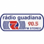 Logo da emissora Rádio Guadiana 90.5 FM