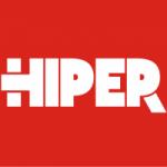Logo da emissora Rádio Hiper 104.6 FM