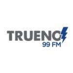 Logo da emissora Radio Trueno 99.3 FM