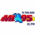 Logo da emissora Radio Mi 95.7 FM