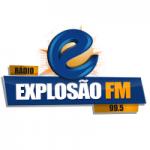 Logo da emissora Rádio Explosão 99.5 FM
