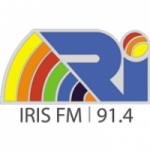 Logo da emissora Rádio Íris 91.4 FM