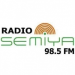 Logo da emissora Radio Semiya 98.5 FM
