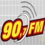Logo da emissora Rádio 90 FM 90.7