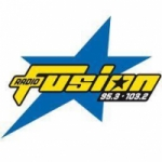 Logo da emissora Radio Fusion 95.3 FM
