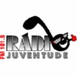 Logo da emissora Rádio Juventude 101.8 FM