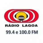 Logo da emissora Rádio Lagoa 100 FM