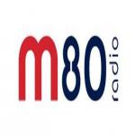 Logo da emissora Rádio M80 104.3 FM