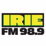 Logo da emissora Radio Irie 98.9 FM