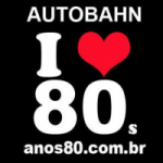 Logo da emissora Radio Autobahn - Anos 80