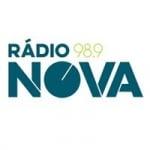 Logo da emissora Rádio Nova 98.9 FM