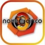 Logo da emissora Rádio Nove3Cinco 93.5 FM