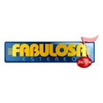 Logo da emissora Radio Fabulosa Estéreo 100.5 FM
