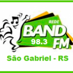 Logo da emissora Rádio Band 98.3 FM