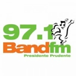 Logo da emissora Rádio Band 97.1 FM