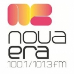 Logo da emissora Rádio Nova Era 101.3 FM