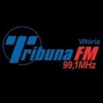 Logo da emissora Rádio Tribuna 99.1 FM